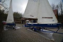 Boote aus dem Winterlager 2011