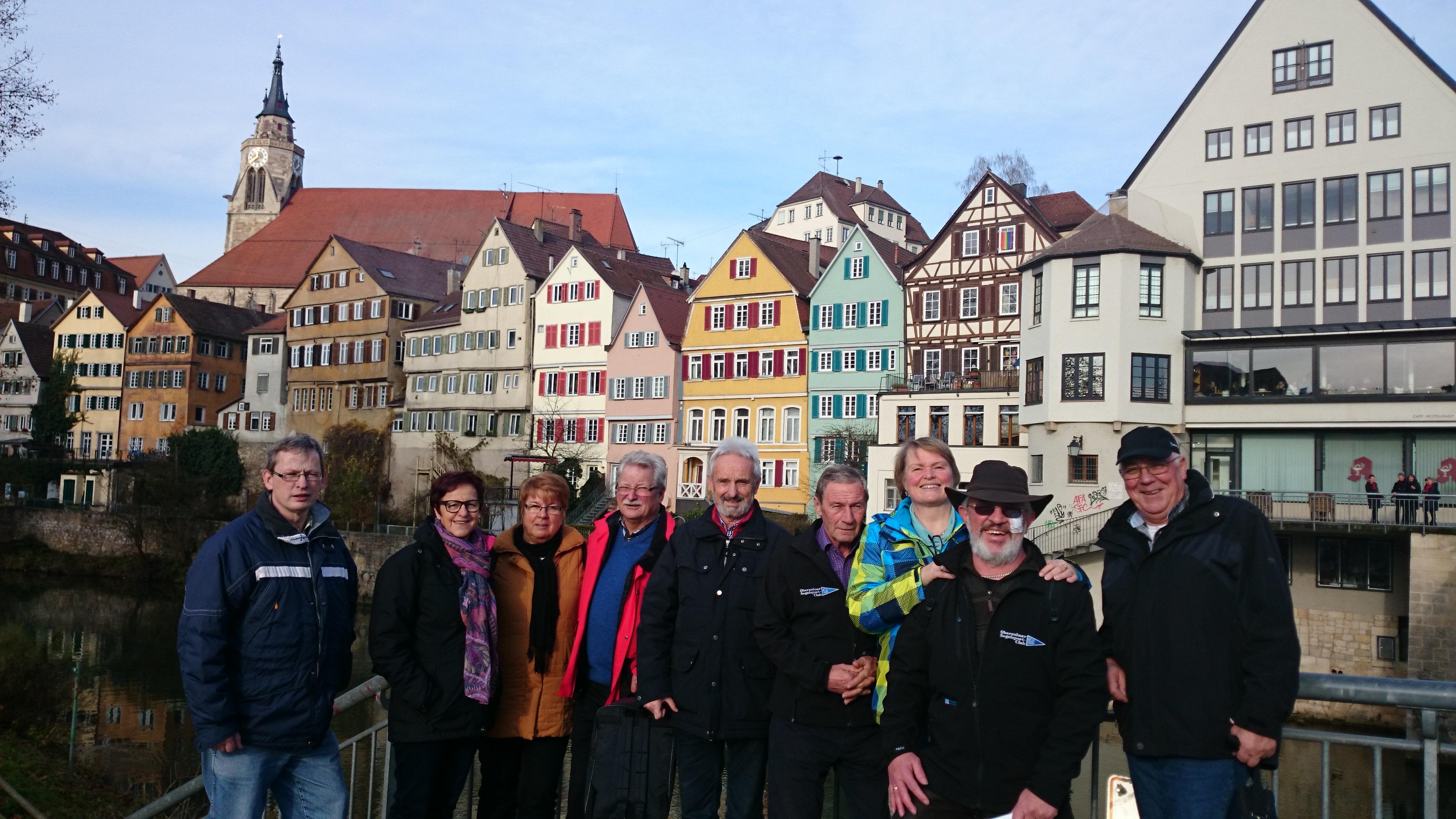 Weihnachtsfahrt nach Tübingen